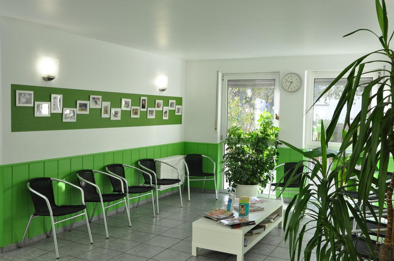 Kleintierpraxis in Grevenbroich - unser Wartezimmer