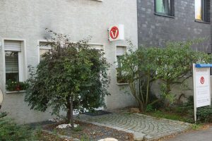 Der Eingang unserer Kleintierpraxis in Grevenbroich